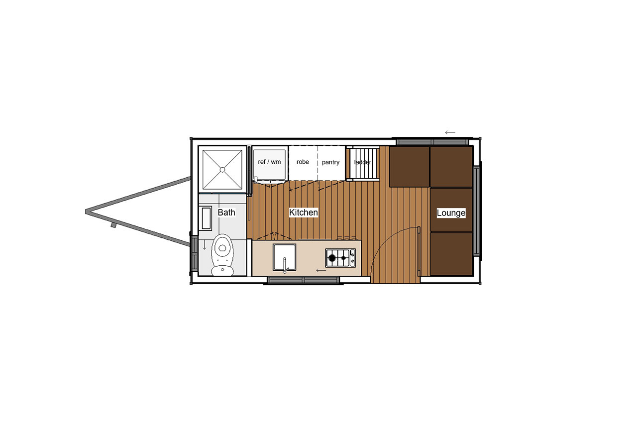 Aussie Tiny House Shell - Maroubra 4.8
